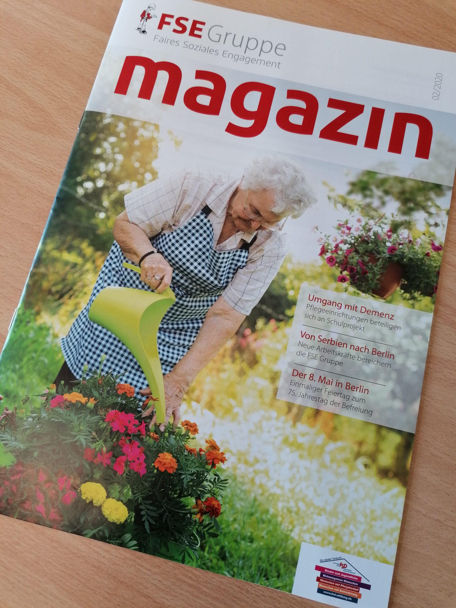 Cover FSE Magazin 02/2020